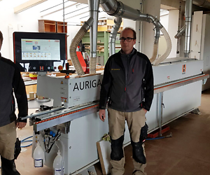 """We live for woodworking"" - A Motto und now a machine that suits with it: The AURIGA 1308 XL"