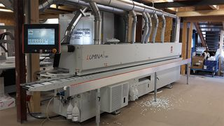 Reference customer for HOLZHER LUMINA edgebander: Kobe in Reutlingen