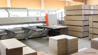 The Styrian carpentry company Zottler does all the classic construction and furniture carpentry work and relies on machines from HOLZ-HER