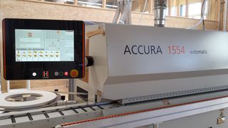HOLZHER reference customer Kleinhans with Accura 1554 edgebander