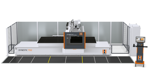 Nesting technology at the highest level - the new gantry cnc machine from HOLZHER