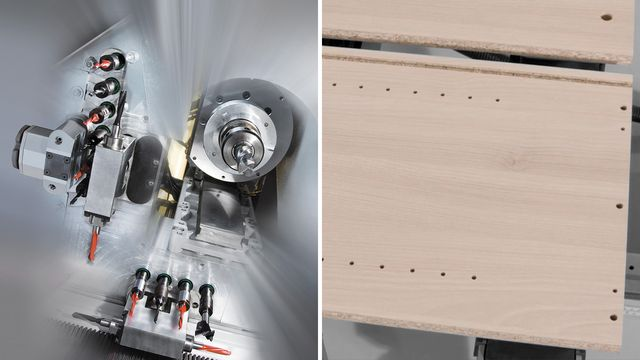 Drilling, sawing, cutting, grooving – the PRO-MASTER machining head