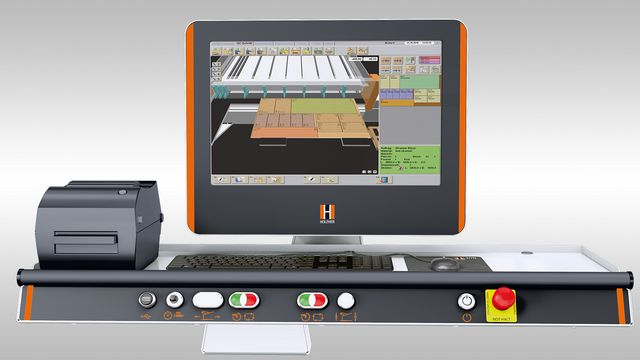 The powerful software package for large HOLZ-HER industrial saws