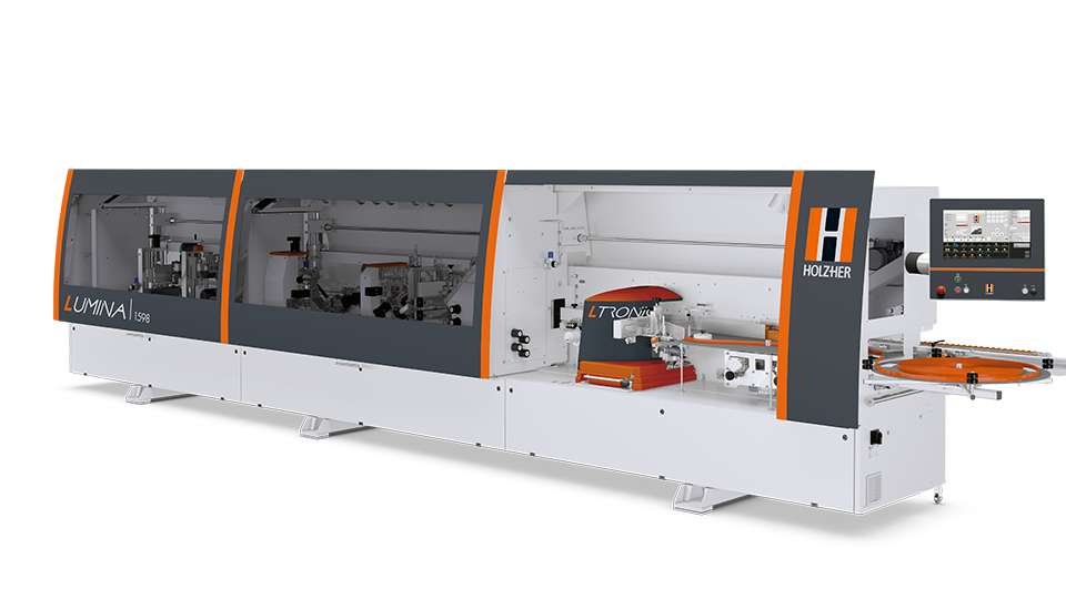 Edgebanders and edgebanding machines from HOLZHER